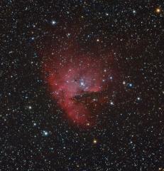 NGC281 - LRGB